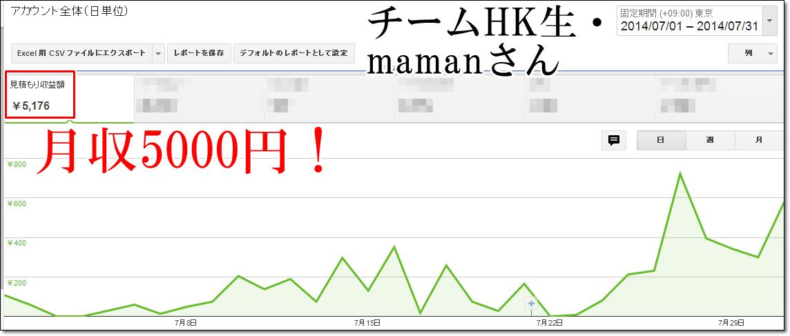 adsense 7 maman  【チームHK】7月の成果報告~真夏のGoogleペナ祭り~