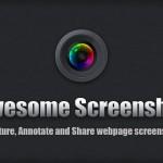 PC初心者でも簡単に画面を画像化できるフリーソフトは【Awesome Screenshot】!